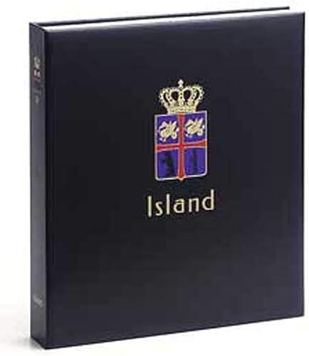 DAVO 9043 Luxus Briefmarkenalbum Island III