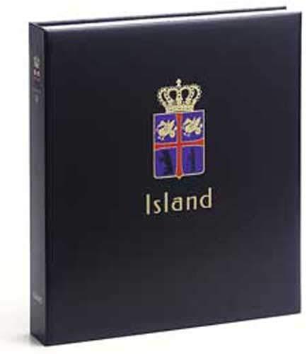 DAVO 9043 Luxe band postzegelalbum IJsland III