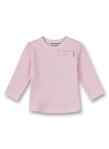 Sanetta Sanetta Baby-Mädchen Sweatshirt, Rosa (Magnolie 3609.0), 68
