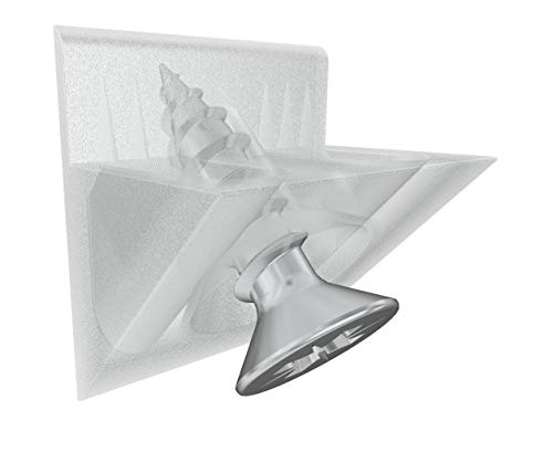 20 Rückwandverbinder Schubkastenboden Regal Stabilisator Fach Halter Keil Transparent