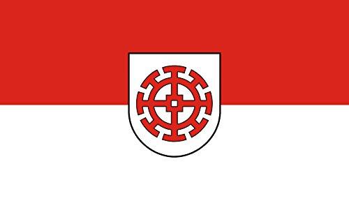 Unbekannt magFlags Tisch-Fahne/Tisch-Flagge: Mühldorf a.Inn, St 15x25cm inkl. Tisch-Ständer
