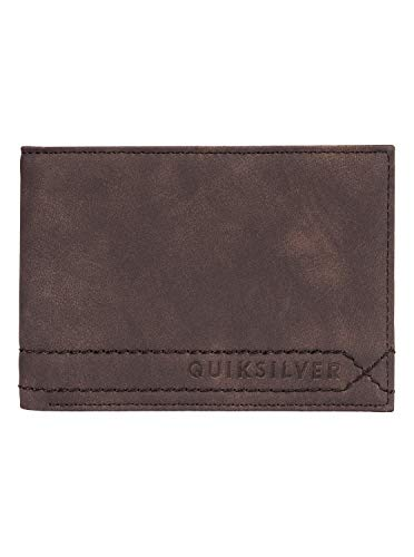 Quiksilver Herren Stitchy Wallets, Chocolate Brown, M