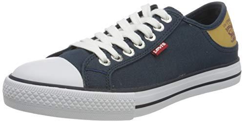 Levi's 222984-733-17_36, Zapatillas de Lona Mujer, Azul Marino, EU