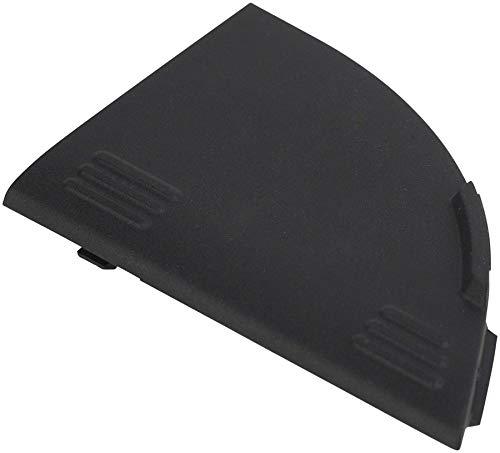 Bosch spina antipolvere cavo di ricarica portapacchi (blocco batteria posteriore Rack Mount Charging Socket Dust Cap Cover (E-Bike Power Pack) e copertura per presa di ricarica, nero, One size