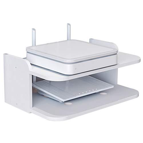LXYFMS - Soporte Flotante de Pared para WiFi Router TV Box Set-Top Box Altavoz Dispositivo de transmisión de Juegos Consola Estante