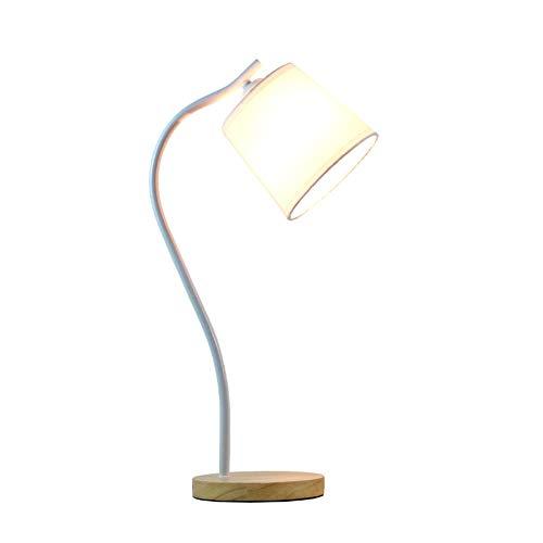 Leeslamp leeslamp leeslamp bureaulamp tafellamp slaapkamerlamp stijlvolle moderne afstandsbediening van massief hout strijkijzer C