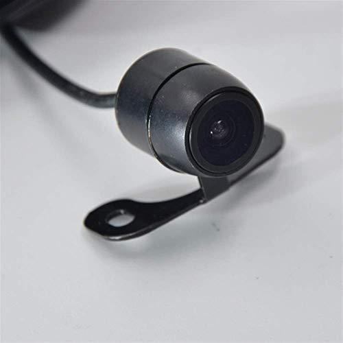 Duro 4 Visión nocturna LED inversión Auto Aparcamiento Monitor CCD Impermeable Impermeable 170 Grado HD Vista trasera Cámara Vehículo Equipo Auxiliar (Nombre del color: 104 Plata) durable