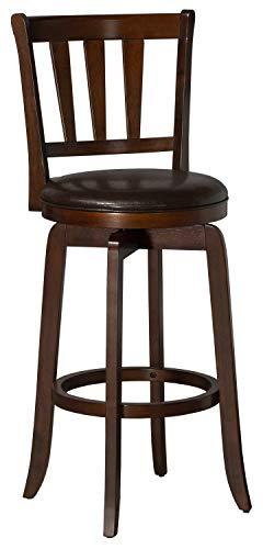 Hillsdale Presque Isle Swivel Bar Height Stool Barstool Cherry