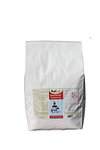 Agrinova DIATOMIN Stallanstrich - Innovativer Kalk-Kasein-Stallanstrich zusätzlich mit natürlicher Kieselgur zur Verbesserung der Hygiene und zur Bekämpfung von Schädlingen im Stall. (5 kg)