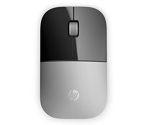 HP Z3700 (X7Q44AA) kabellose Maus (1200 optische Sensoren, bis zu 16 Monate Batterielaufzeit, USB Anschluss, PlugundPlay) anthrazit