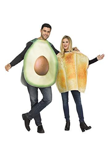 Fun World Avocado & Toast Costume for Adults Standard