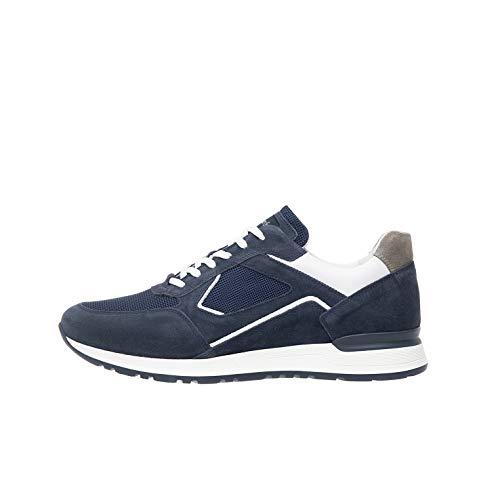 Nero Giardini P900831U Sneakers Uomo in Pelle, Camoscio E Tela - Incanto 41 EU
