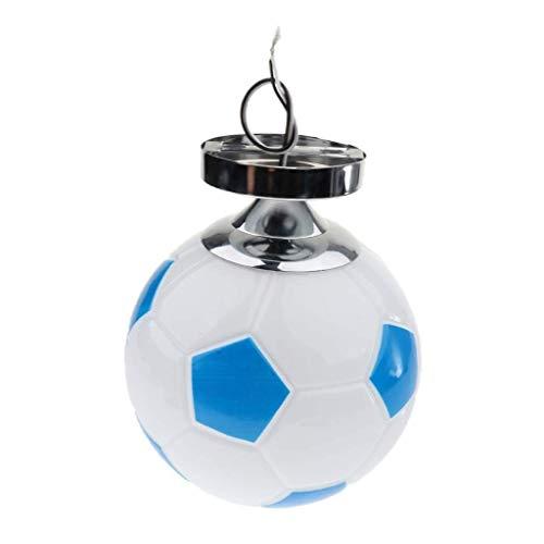 Moderne plafondlamp Art Decor Style ingebouwde voetbal emoticon-voetbal sfeervolle perfecte lichtbron fixering plafondlamp incl.