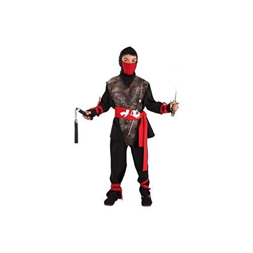 Multicolor Guirca-81253 Disfraz shadow ninja 81253.0 Talla 10-12 a/ños