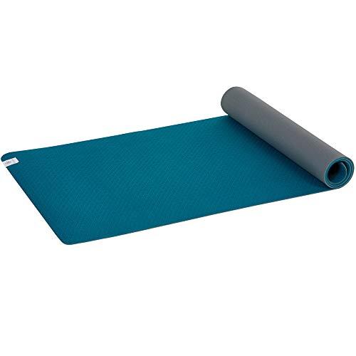 Gaiam Performance Soft Grip 5mm Yoga Mat, Teal/Grey by Gaiam