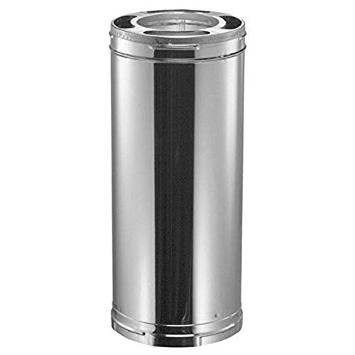 """Duravent 6"""" x 36"""" Stainless Class A Triple Wall Chimney Pipe"""