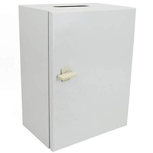 BeMatik - Caja de distribución eléctrica metálica con protección IP65 para fijación a Pared 500x300x200mm