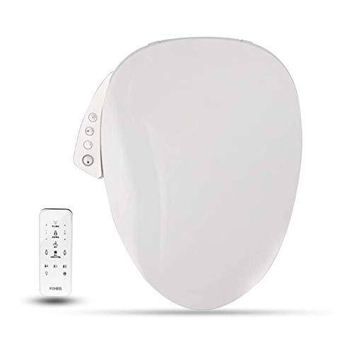 JJSFJH Cubierta de Asiento para el Inodoro Inteligente, Control Remoto Electrónico autolimpiante Lid Limpiar calefacción en seco WC Intelligent with Asiento de Asiento para baño