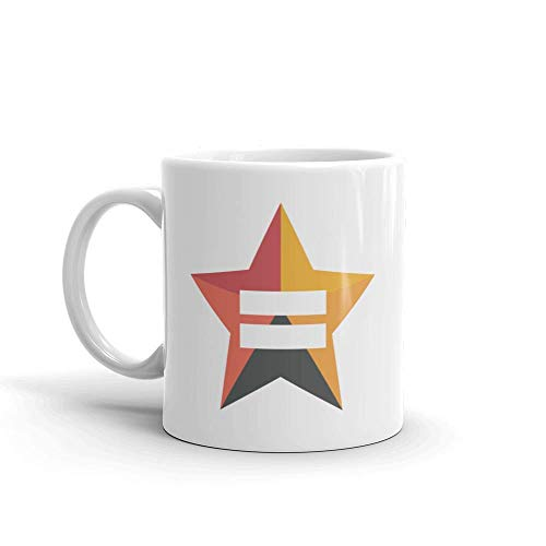 N\A Taza Blanca The L Word: Generation Q Bette Porter's Equality Star