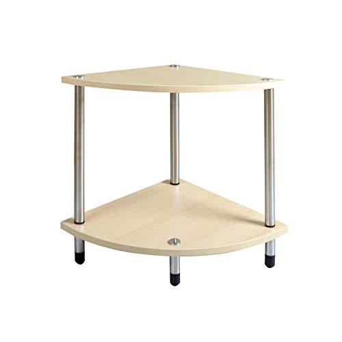 Hongsezhuozi Couchtisch Massivholz Dreieckige Tabelle Kann Auch Als Regal Für Wohnzimmer Ecke Balkon Freizeit Tisch Verwendet Werden (Farbe : B)