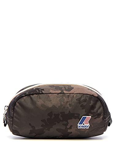 K-Way Borsello Multi borsa tracolla uomo medium pouch k-pocket slg 9AKK camouflage