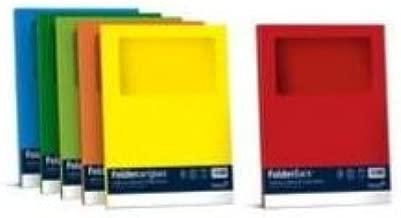 Favini Folder con Finestra Carta Rosso
