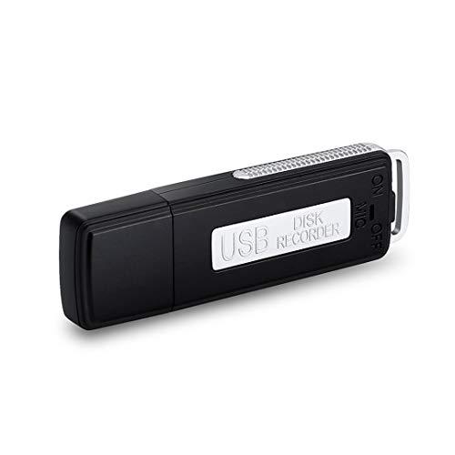 Mondpalast @ USB Aufnahmegerät Diktiergerät Speicherstick Audio Voice Recorder Dictaphone 8GB