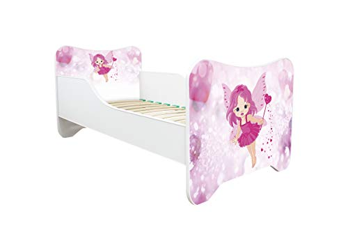 Topbeds Lit pour enfant Design Happy Kitty Matelas inclus (LITTLE FAIRY)