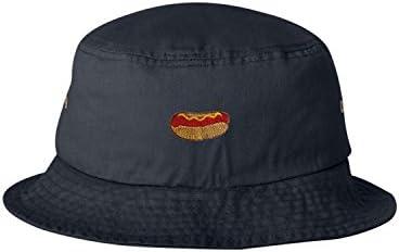 Adult Hot Dog Embroidered Visor Dad Hat