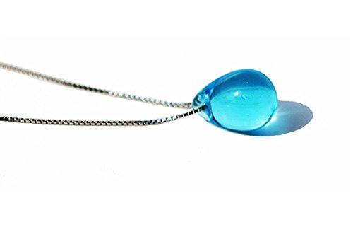 Halskette Anhänger Tropfen des Meeres | Drop of Ocean (Blau)
