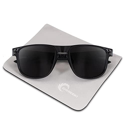 CHEREEKI Mens Polarised Sunglasses, Polarized Sunglasses for Men Women with...