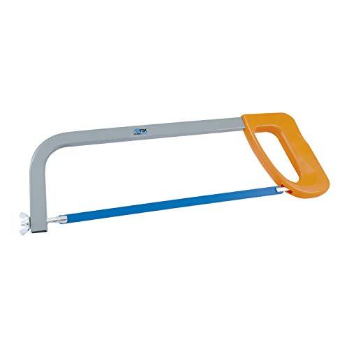 Ferrestock 1702 Arco empuñadura, Bastidor Ligero y Robusto, Hoja de Sierra de 300mm para Cortar Metal y plástico Intercambiable