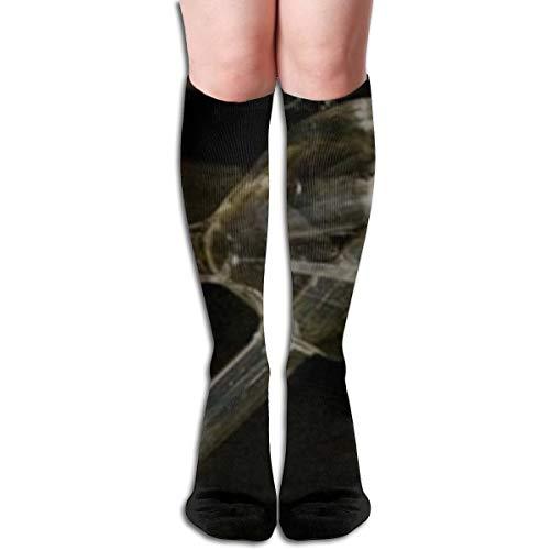 YudoHong Gothic Dark Klein Flaschenkunst Over-the-Calf Tube Socks Sportliche Socke für Männer und Frauen