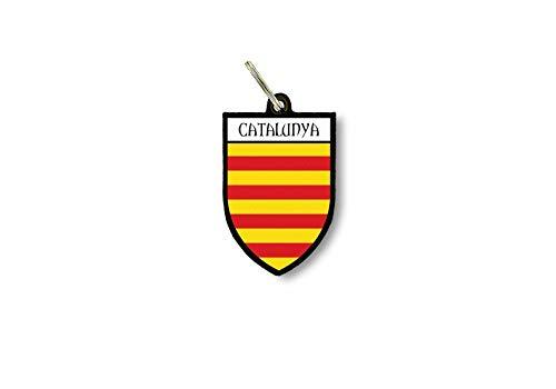 Sleutelhanger Sleutelhanger Ring Vlag Nationale Souvenir Shield Catalonië