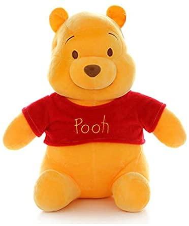 Lindo juguete de peluche de Winnie the Pooh, dibujos animados de Anime, muñeco de peluche suave, decoración de habitación, juguetes, regalos para niños, 45 cm / 55 cm