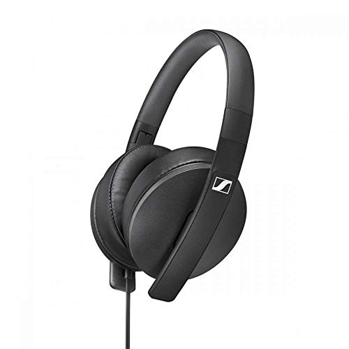 Sennheiser HD 300 Around-Ear Lightweight Foldable Headphones - Black