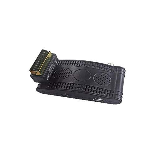 GBC - DECODER DVB-T2 MINI-SCART HEVC HD LAN USB PVR XDOME