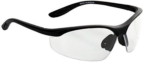 Eagle Half Moon - Gafas de protección laboral con lentes de policarbonato, graduados de +1,5 dioptrías bifocal
