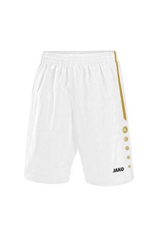 Jako Herren Shorts Performance, Weiß/Gold, XXL
