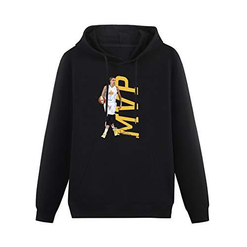 WEGB HeavyweightHooded Elena Delle Donne Mvps Long Sleeve SweatshirtsBlackXXL