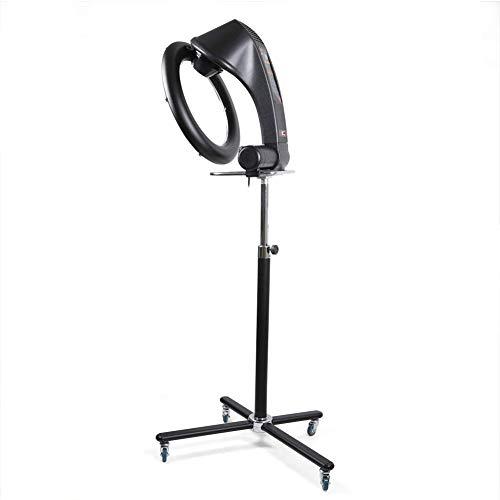HEWYHAT Secador de Pelo de pie Libre 950W, Secador de Pelo por Infrarrojos Profesional Rollerball Secador de Pelo Procesador de Color Máquina de Secado de salón