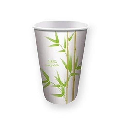 Gobelet biodégradable décor Bambou 20 cl par 50
