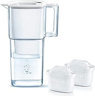 ブリタ 浄水器 ポット 浄水部容量:1.1L(全容量:2.2L)  リクエリ ポット型 浄水器 マクストラプラス カートリッジ カートリッジ 2個付き (1個増量) 【日本仕様・日本正規品】