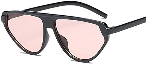 Lindo Sexy Retro Gato Ojo Gafas De Sol Mujeres Pequeñas Negro Blanco Sol Gafas Mujer Retro Uv400 Lunette De Soleil Femme, Negro rosa.,
