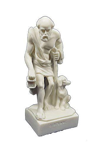 Diogenes Skulptur der Zyniker Statue Antike Griechische Philosoph