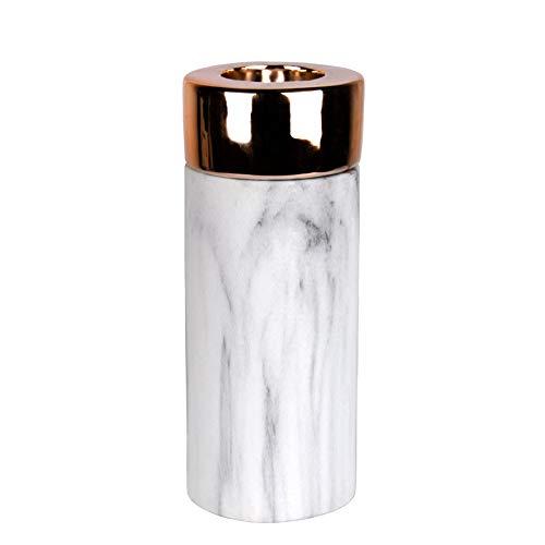 Kerzenhalter und Vase Juna in Kupfer & Gold (Kerzenhalter L (Kupfer))