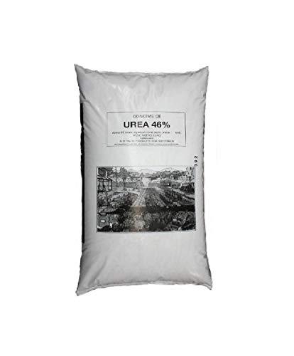 Urea agricola 46% kg.25.Si può usare sia nelle concimazioni di copertura che in quelle di pre semina o pre trapianti stando attenti ai dosaggi.Prodotto indicato per la spinta vegetativa della pianta.