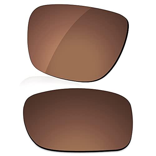 LenzReborn Reemplazo de lente polarizada para Arnette Reserve AN4226 Sunglass - Más opciones, Marrón oxidado - Polarizado, Talla única