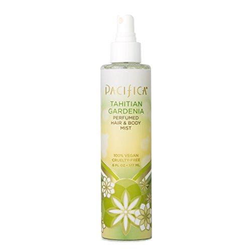 Pacifica Beauty Perfumed Hair & Body Mist, Tahititan Gardenia, 6 Fl Oz (1 Count)
