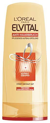 L'Oréal Paris Elvital Pflegende Aufbauspülung Anti-Haarbruch, 6er Pack (6 x 250 ml)